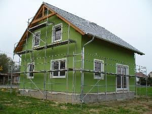 Příklad zateplování budov